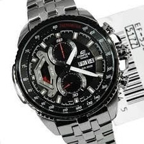 Relogio Casio Edifice Red-bull Ef 558sg 550 Pronta Entrega