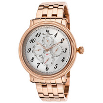 Lucien Piccard Potenza Multi-function Rose-tone Stainless