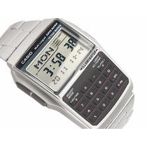 Casio Data Bank 25 Telefon Bateria 10 Anos 5 Alarmes Dbc-32d