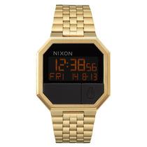 Relógio Unissex Nixon Re-run All Gold
