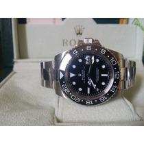 Relógio Eta Modelo Gmt Master Ii Dial Preto - Eta A2836