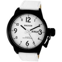 Relógio Magnum Sport Masculino Pulseira De Couro Ma33415b