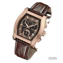Bulova Accutron Ouro Rose 18k Executive Class De $4.990 Por
