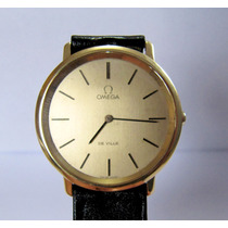 Relógio Omega Deville Ouro Masculino Corda Manual