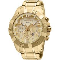 Relógio Technos Legacy Os20ik/4x Folheado A Ouro