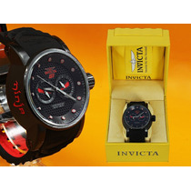 Invicta Original S1 Ninja 12787 Ion Vermelho - 48mm Original