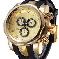 Relógio-importado-slicon-bracelete-de-quatzo-homem-3d-superf