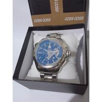 Relógio Masculino Grand Carrera Calibre 36 Azul Frete Grátis