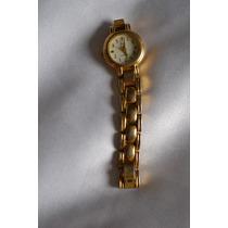 Relógio Feminino Folheado A Ouro - Lindissímo