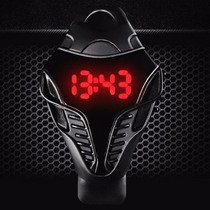 Relógio Digital Sport Led Vermelho Ou Azul