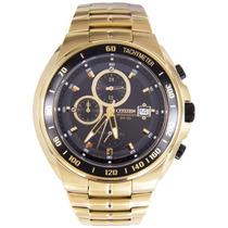 Relógio Citizen Cronógrafo An4012-51e Dourado