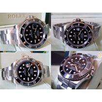 Relógio Eta 2836 Modelo Submariner Dial Preto 40mm