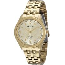 Relógio Seculus Long Life Feminino Urbano 23359lpsbda1