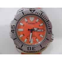 Seiko Monster Diver 7s26 Automatic Orange Wr200m 1ª Geração
