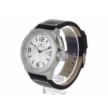 Relógio Invicta Corduba Collec. 1110 Original Inox E Couro