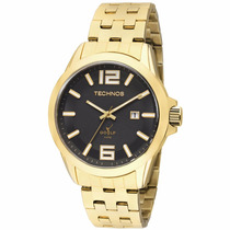 Relógio Technos Masculino Classic Golf Dourado 2115klv/4p