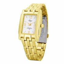 Relógio Feminino Condor Analógico Dourado - Frete Grátis