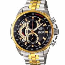 Relógio Masculino Casio Edifice Ef-558sg-av Mostrador Preto