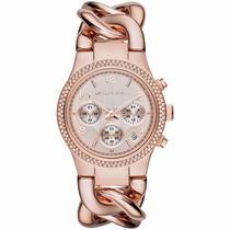 Relógio Feminino Michael Kors Rose Mk3247 -com Caixa