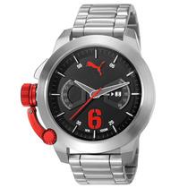 Relógio Puma, Analógico, Aço, 10 Atm - 96233g0pmna3