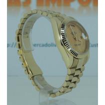 Relógio Day Date President Automatico Em Numeros Romanos Xl