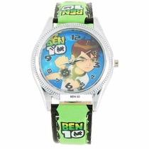 Relógio De Pulso Infantil Ben 10 Disney - Pronta Entrega