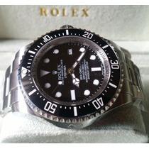 Relógio Eta Modelo Deepsea Sea-dweller Dial Preto + Caixa