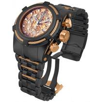 Relógio Invicta Bolt Zeus Jt 14429 Esqueleto Black Rosê !!!