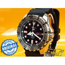 Relógio Seiko 5 Srp601k1 Automatico - Serie Monster - 46mm