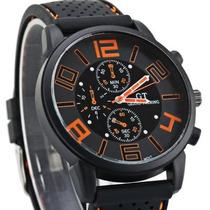 Relógio Unissex Esportivo Analogico Pulseira De Silicone *