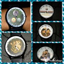 Relógio De Pulso Personalizado. Fazemos Com Fotos E Desenhos