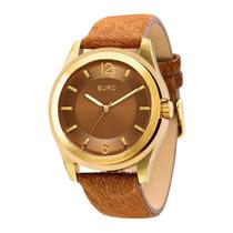 Relógio Feminino Euro Premium Eu2035lxe/2x - Dourado / Ma...