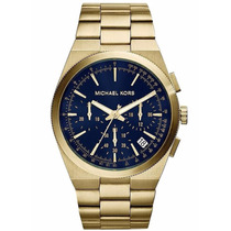 Relógio Michael Kors Brooks - Mk8338 ( Fundo Azul Marinho )
