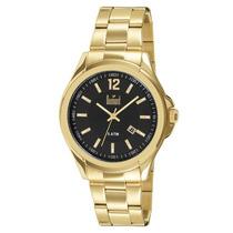 Relógio Dumont Masculino Dourado Du2115bm/4p