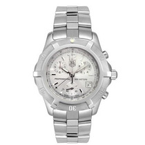 Relógio Tag Heuer Cn1111 38mm Stainless Steel Chronograph