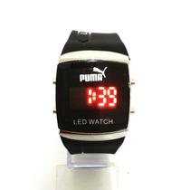 Relógio Unsex - Kit C/10 U - Puma De Led - Preço P/ Revender