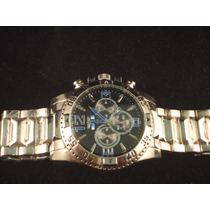 Relógio Masculino Aço Estilo - Presente De Natal