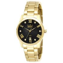 Relógio Feminino Dumont Elements Analógico Du2115ax4p Dourad