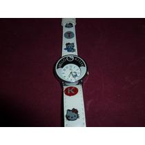 Relógio Infantil Hello Kitty.