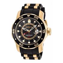 Invicta 6991 Pro Diver Banhado A Ouro 18k Na Caixa