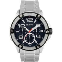 Relógio Masculino Orient Esportiv Multifunção Prata Mbssm041