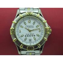 Relógio Bulova Caravelle 45b19 Original Ouro/prata 5 Estrela