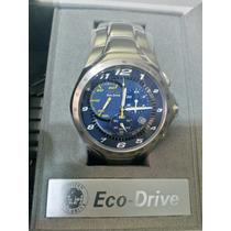 Relógio Citizen Eco Drive At1091-54m Racing Chrono Original