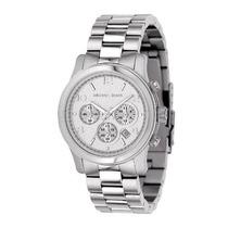 Relógio Michael Kors Mk5076 Prata Original, Com Garantia