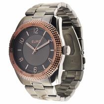 Relógio Euro Santarem Eu2036qp/3m Pulseira Metal Wr 30m Nfe