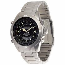 Relógio Technos Skydiver Pilot Titanio - T20563/1p