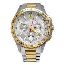 Relógio Ferrari Scuderia Sf105 Gold 0830051