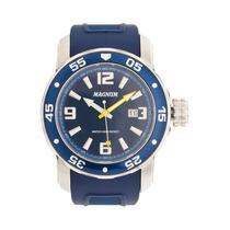 Relógio Magnum Ma31908a Azul - Frete Grátis