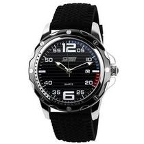 Relógio Skmei Genuíno Marca De Luxo De Quartzo Silicone