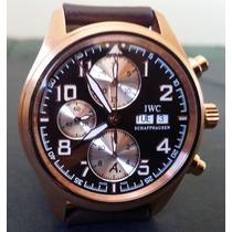 Relógio Eta Modelo Iwc Pilot Antoine De Saint Exupery Gold